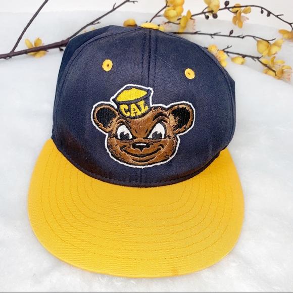 UC BERKELEY Bear Cap SnapBack Hat